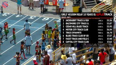 Boys' 4x100m Relay, Final - Age 9-10