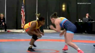 76 kg Prelims - Dymond Guilford, Team Mensah Stock vs Victoria Francis, Team Francis