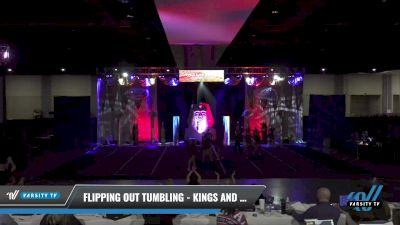 Flipping Out Tumbling - Kings and Queens [2021 L4 Senior Coed - D2 - Small Day 2] 2021 Queen of the Nile: Richmond