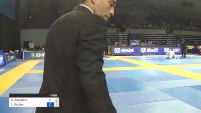 Andris Auseklis vs Lucas Rocha 2019 Pan Jiu-Jitsu IBJJF Championship