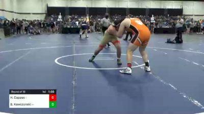 285 lbs Prelims - Hayden Copass, IL vs Ben Kawczynski, WI