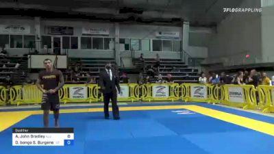 Adam John Bradley vs Danilo Bongo S. Burgener 2021 Pan IBJJF Jiu-Jitsu No-Gi Championship