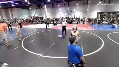 65 lbs 5th Place - Hunter Beeman, Darkhorse vs Patrick Martinez, Pirates Wrestling