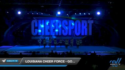 Louisiana Cheer Force - Gold [2020 Senior XSmall Coed 6 Division B Day 1] 2020 CHEERSPORT National Cheerleading Championship