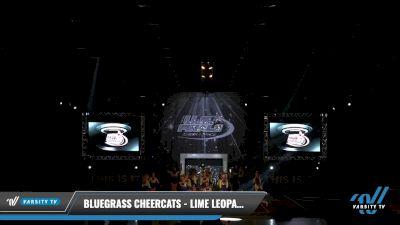 Bluegrass Cheercats - Lime Leopards [2021 L2 Junior - D2 - Small - B Day 2] 2021 The U.S. Finals: Louisville