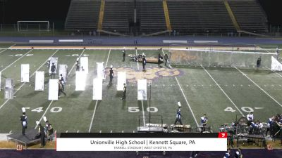 """Unionville High School """"Kennett Square PA"""" at 2021 USBands Pennsylvania State Championships"""