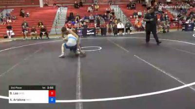 70 kg 3rd Place - Brayton Lee, Gopher Wrestling Club - RTC vs Anthony Artalona, Pennsylvania RTC