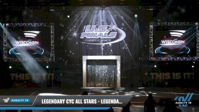 Legendary CYC All Stars - Legendary CYC Recon [2021 L1 Junior - Small Day 1] 2021 The U.S. Finals: Louisville