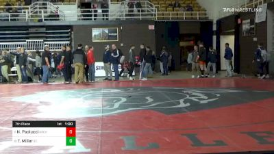 145 lbs 7th Place - Nick Paolucci, Archbishop Spalding vs Tyler Miller, St. Thomas More