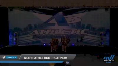 Stars Athletics - Platinum [2021 L2 Junior - D2 - Small Day 2] 2021 Athletic Championships: Chattanooga DI & DII