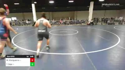 235 lbs Rr Rnd 2 - Mateo Vinciguerra, NJ vs Troy Ceja, CA