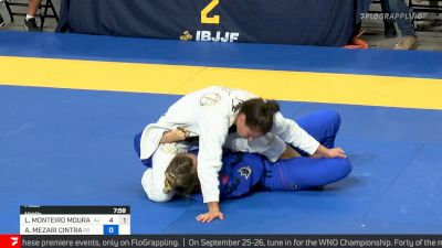 Luiza Monteiro vs Andressa Cintra , Middleweight Final, 2021 IBJJF Pan Championship