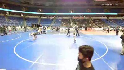 138 lbs 5th Place - Dominic Federici, Pennsylvania vs Clayton Gabrielson, Maryland