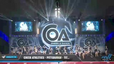 Cheer Athletics - Pittsburgh - TitaniumCats [2021 L2 Junior - Medium Day 2] 2021 COA: Midwest National Championship