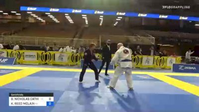 BRUCE NICHOLAS CATHIE vs KEITH REED MCLAIN 2020 World Master IBJJF Jiu-Jitsu Championship