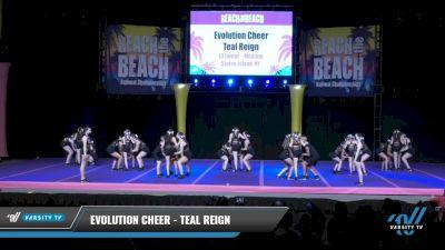 Evolution Cheer - Teal Reign [2021 L3 Junior - Medium Day 2] 2021 ACDA: Reach The Beach Nationals