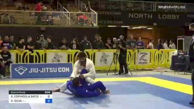 GUSTAVO ESPINDOLA BATISTA vs XAVIER SILVA 2021 Pan Jiu-Jitsu IBJJF Championship