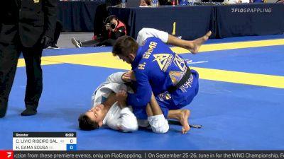 Cicero Livio Ribeiro vs Hiago Gama, Roosterweight Final, 2021 IBJJF Pan Championship