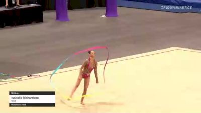 Isabelle Richardson - Ribbon, NSB - 2021 USA Gymnastics Championships