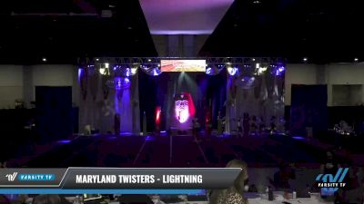 Maryland Twisters - Lightning [2021 L3 Senior - Medium Day 1] 2021 Queen of the Nile: Richmond