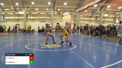 Semifinal - Robert Patrick, UVA-Unattached vs Barrett Blakely, Appalachian State