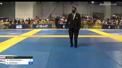 SCOTT CHRISTENSEN vs ERIK JOHNSON 2021 American National IBJJF Jiu-Jitsu Championship