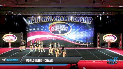 World Elite - Crave [2021 L6 Senior - XSmall Day 2] 2021 ACP: Midwest World Bid National Championship