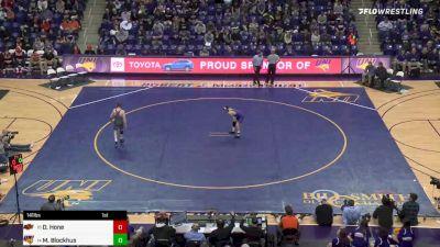 141 lbs Dusty Hone, Oklahoma State vs Michael Blockhus, UNI
