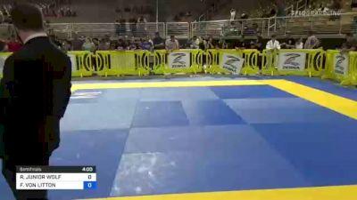 RICHARD JUNIOR WOLF vs FRANCISCO VON LITTON 2021 Pan Kids Jiu-Jitsu IBJJF Championship
