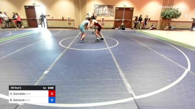 145 kg Rr Rnd 5 - Adrian Gonzalez, New York vs Bohdan Solianyk, New York