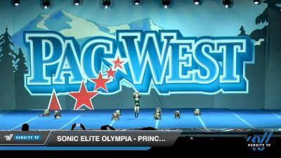 Sonic Elite Olympia - Princesses [2020 L1 Tiny Day 1] 2020 PacWest
