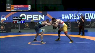 125 kg Quarterfinal - Diaaeldin Abdemottaleb, EGY vs Amir Zare, IRI