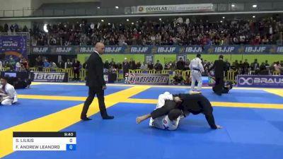 SANTERI LILIUS vs FELLIPE ANDREW LEANDRO SILVA 2020 European Jiu-Jitsu IBJJF Championship