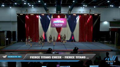 Fierce Titans Cheer - Fierce Titans Cheer-Zetas [2021 L1 Junior - D2 - Small Day 2] 2021 The American Spectacular DI & DII