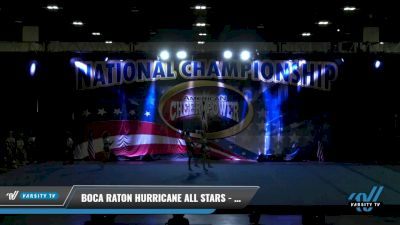 Boca Raton Hurricane All Stars - Tiger Sharks [2021 L2 Senior - D2 Day 1] 2021 ACP: Tournament of Champions