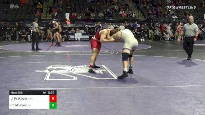 174 lbs Prelims - Jared Krattiger, Wisconsin vs Tyler Morland, Northwestern