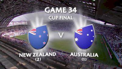 New Zealand vs Australia- HSBC World Women's 7s Series (Paris)