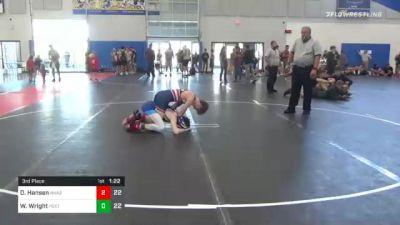 113 lbs 3rd Place - Drew Hansen, Askren2 vs Wilson Wright, Poeta