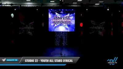 Studio 22 - Youth All Stars Lyrical [2021 Youth - Contemporary/Lyrical - Small Day 2] 2021 JAMfest: Dance Super Nationals