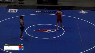 97 kg Rr Rnd 1 - Austin Schafer, Team Kenny Monday vs Mike Macchiavello, Team Lloyd Keaser