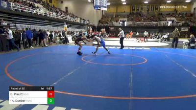 160 lbs Prelims - Gavin Proutt, Boys` Latin School vs Aurelius Dunbar, Mercersburg Academy