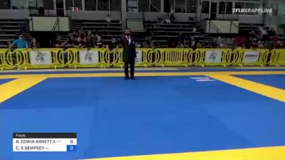 ROBERT EDWIN ARNETT II vs CHRISTOPHER S DEMPSEY 2021 Pan IBJJF Jiu-Jitsu No-Gi Championship