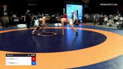 92 kg Rnd Of 16 - Christopher Smith, Southeast Regional Training Center, Inc vs Trent Hidlay, Titan Mercury Wrestling Club