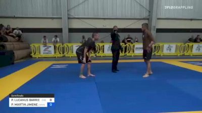 PAUL LUCANUS BARRIERE vs PEDRO MARTIN JIMENEZ 2021 Pan IBJJF Jiu-Jitsu No-Gi Championship