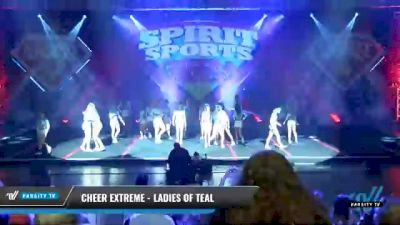 Cheer Extreme - Ladies of Teal [2021 L6 International Open Day 1] 2021 Spirit Sports: Battle at the Beach