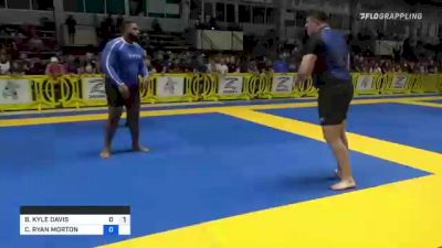 BRENDON KYLE DAVIS vs CHRISTEN RYAN MORTON 2021 Pan IBJJF Jiu-Jitsu No-Gi Championship