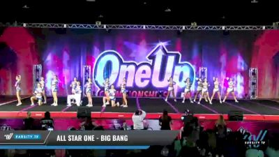 All Star One - Big Bang [2021 L6 Senior Coed - XSmall Day 2] 2021 One Up National Championship
