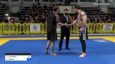Joshua Luke Wear vs Emil Fischer 2021 Pan IBJJF Jiu-Jitsu No-Gi Championship