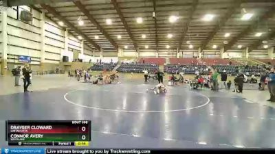 82 lbs 3rd Place Match - Drayger Cloward, Uintah Utes vs Connor Avery, Westlake