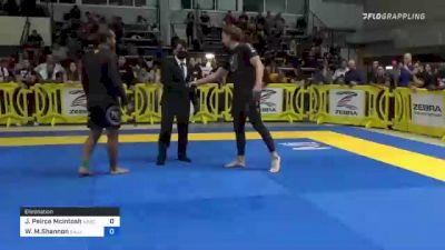 Jae Peirce Mcintosh vs William M.Shannon 2021 Pan IBJJF Jiu-Jitsu No-Gi Championship